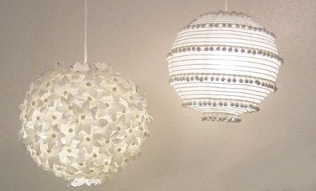 Karmuca y cuquino personalizar lamparas de papel - Lamparas de techo de papel ...