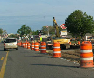 Anoka Road Construction