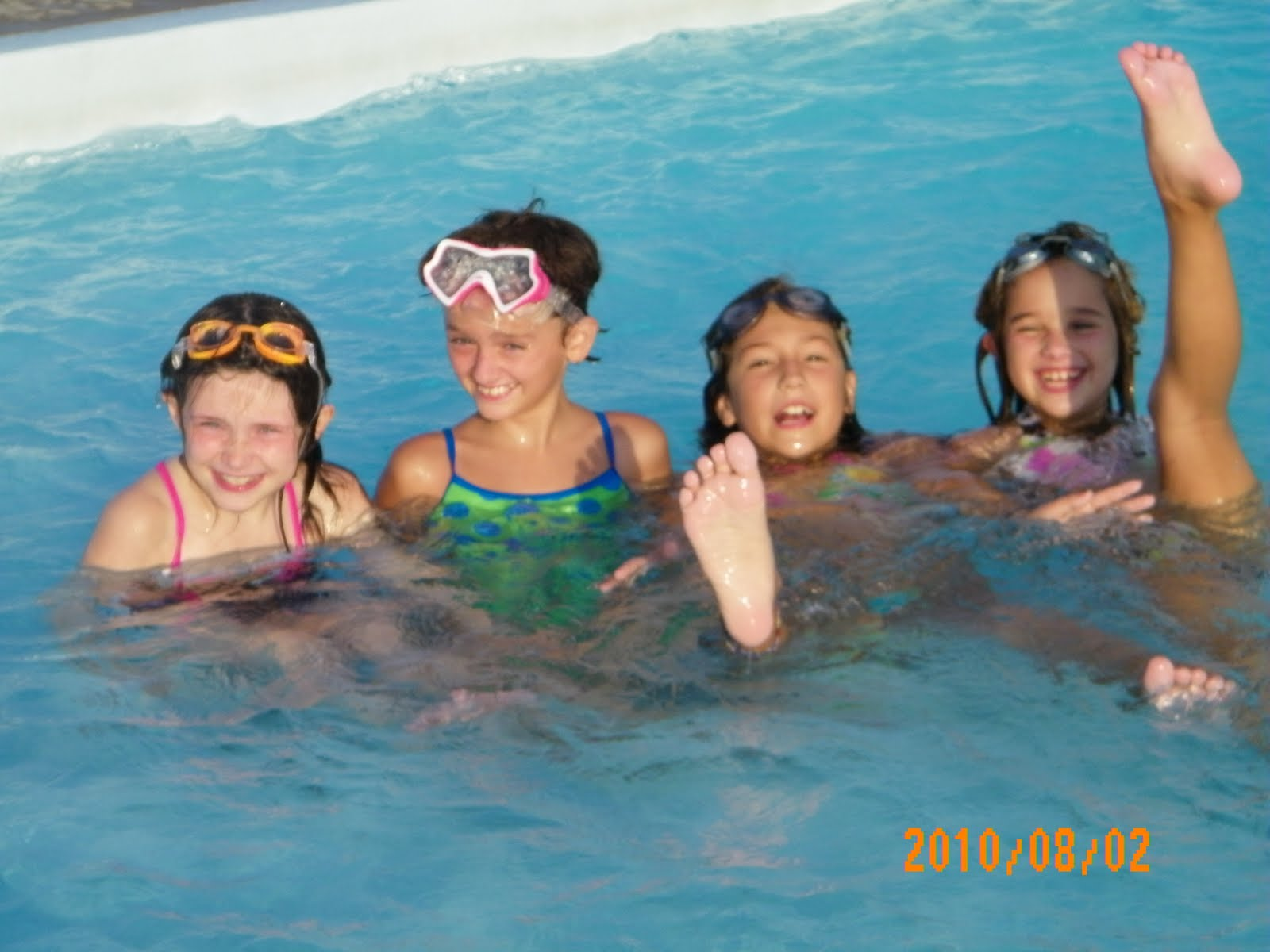 Girl scout troop 6343 pool party - How to make a pool party ...