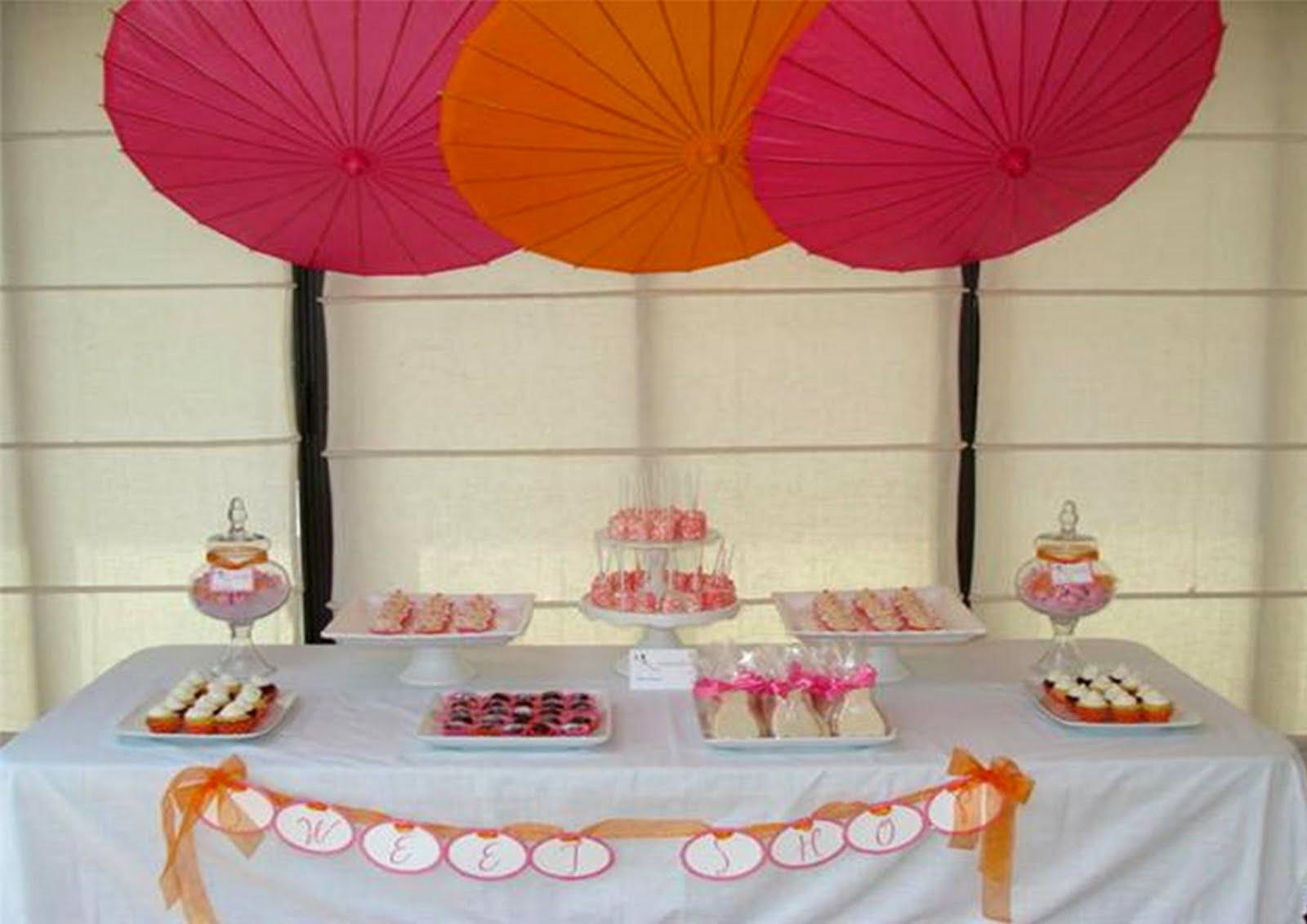 Icing Designs: Pink and Orange Bridal Shower