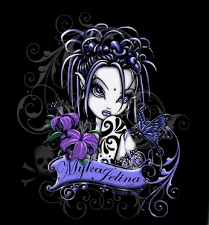 Gothic Cartoon Fairies http://1witchblog.blogspot.com/2008/07/gothic-fairies-art-by-mika-jelina.html