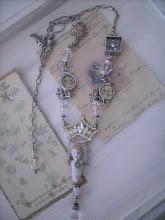 Mitt nya vackra halsband av Diana Frey i Usa..=)