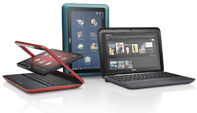Dell Inspiron Duo Convertible Tablet PC and Laptop