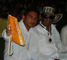 con el maestro CALIXTO OCHOA CAMPO