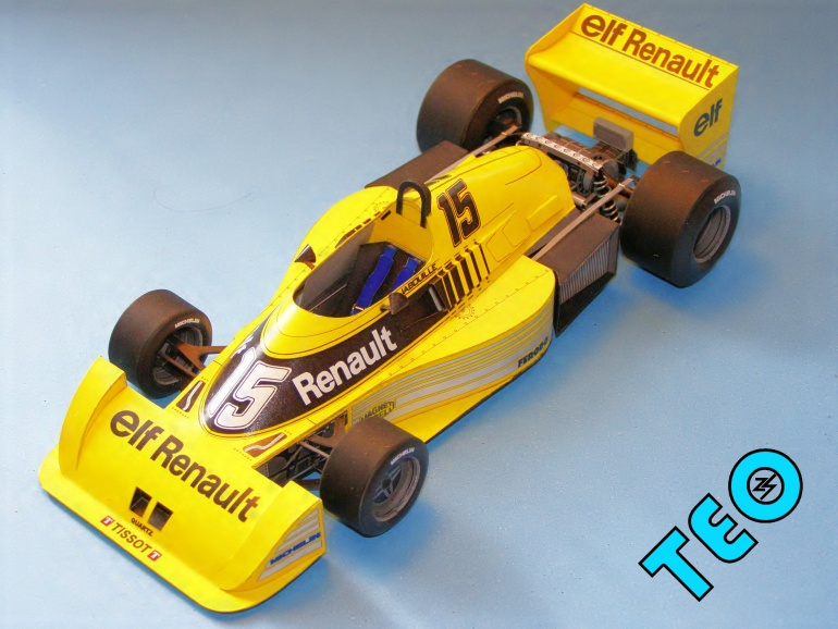 1977 Renault 17 Ts. Marcadores: 1977 - Renault