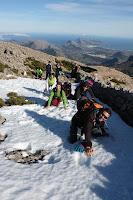 En el Puig Tomir flipats amb la neu