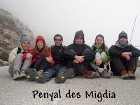 Grup a la carretera del Puig Major