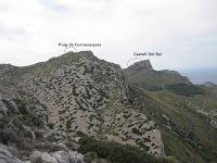 Vista del Puig de Cornavaques