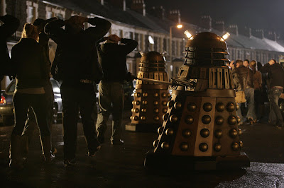 Daleks take control of Earth