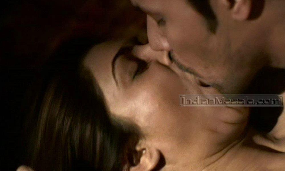 Sushmita Sen Hot Kiss