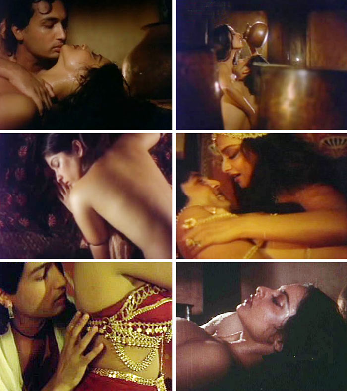 Sex scenes in Bollywood movies me, please
