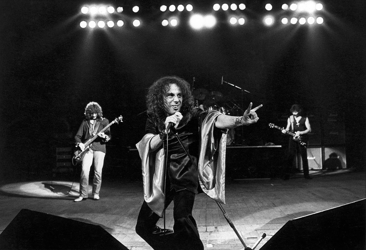 Ronnie James Dio couple
