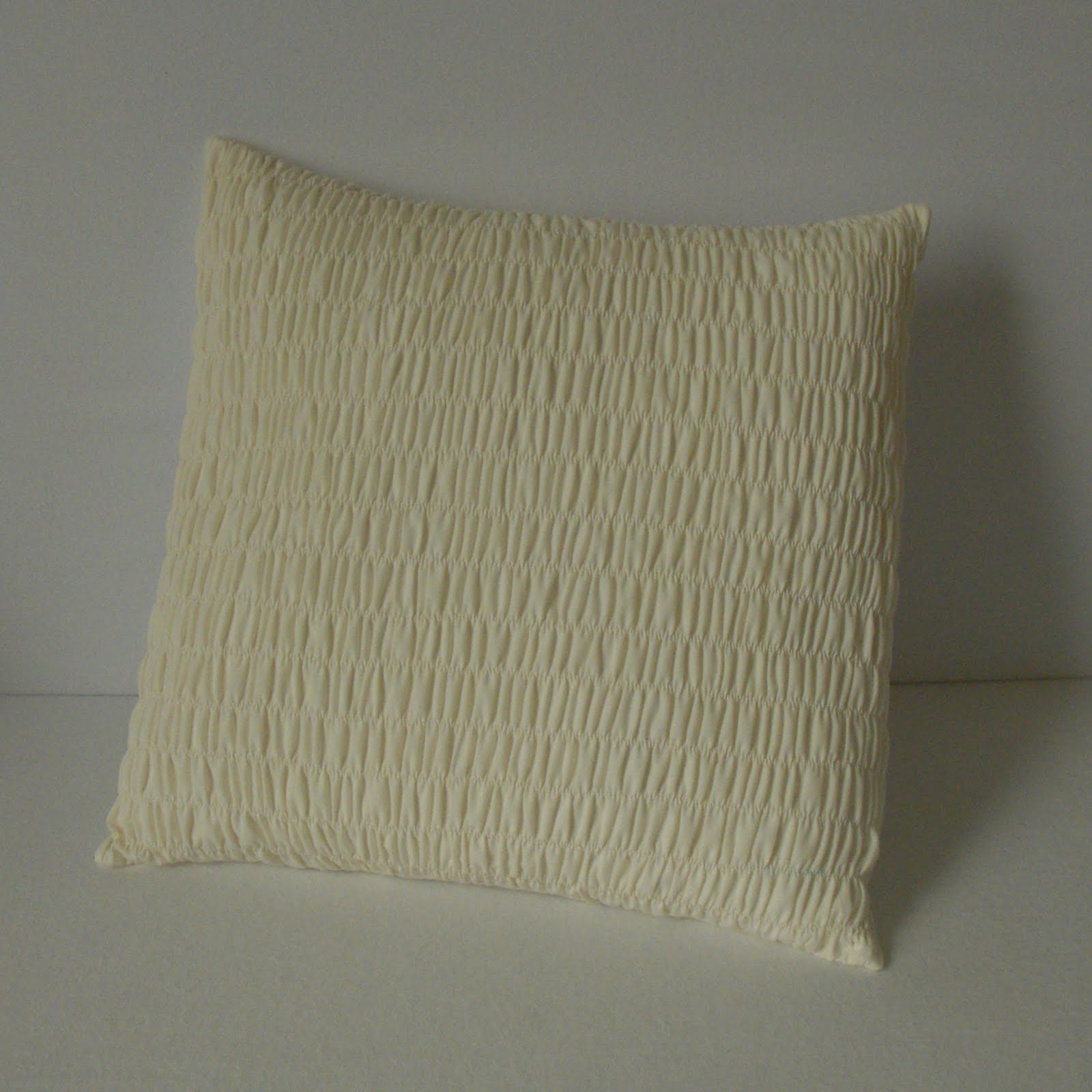 Obsessively Stitching Shirred Pillow Tutorial