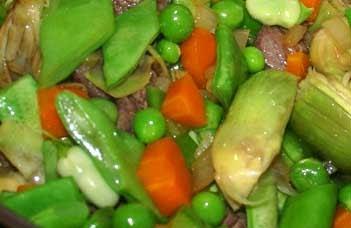 Salmorrejo menestra de verduras para los que no saben - Hacer menestra de verduras ...