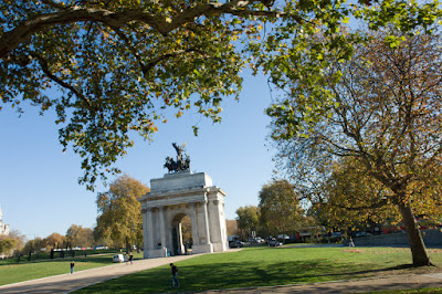 Wellington Arch on a beautiful day