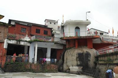 Compound of the Chamunda Devi temple