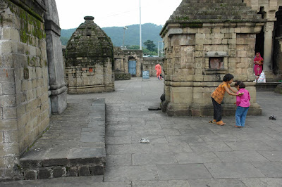 View of the compound of Shiva Temple at Baijnath
