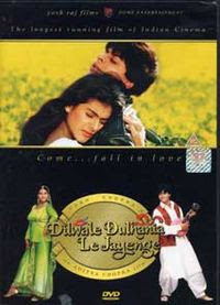 Dilwale Dulhania Le Jayenge (starring Shahrukh Khan and Kajol) (released in 1995)