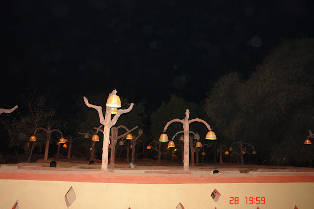 Photo of the Bhool Bhulaiya inside the Chokhi Dhani tourist village