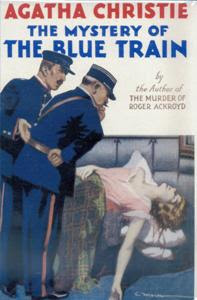 The Mystery of the Blue Train (1928) - by Agatha Christie - starring Hercule Poirot