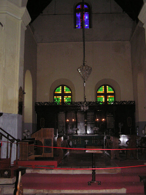 Photo of The inside of the St Francis Church in Cochin, Kerala, India