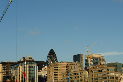 Gherkin building rises above the rest