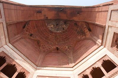The high gate of Fatehpur Sikri