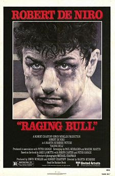 Raging Bull starring Robert De Niro and released in 1980