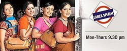 Ladies Special on Sony TV - Story of 4 different ladies, appearing weekdays at 2130 PM, starring Neena Gupta, Akash Khurana, and Harsh Chhaya