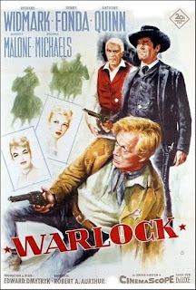 Warlock (Released in 1959) - Starring Henry Fonda and Anthony Quinn - another western story