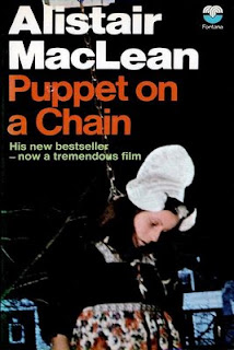 Puppet on a Chain (published in 1969) - authored by Alistair Maclean - the narcotics world and Netherland