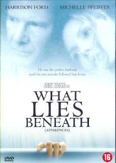 What lies beneath (released in 2000) - A supernatural thriller starring Michelle Pfeiffer and Harrison Ford - a big hit