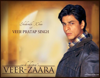 Veer Zaara (released in 2004) - A cross-border romance starring Shahrukh Khan, Preity Zinta and Rani Mukerji