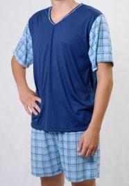 Pijama masculino tam P 35,00