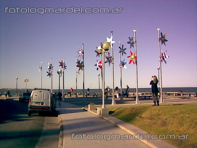 Los molinos en la costa marplatense