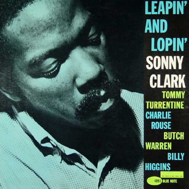 sonny clark - leapin' and lopin' (sleeve art)
