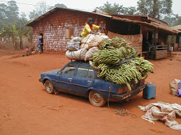 Trucks and Roads in Cameroon