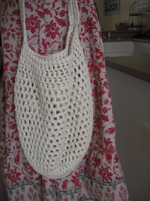 Crochet Market Bag Pattern Free : Peanutzmoms Pattern Place: Crochet Market Bag