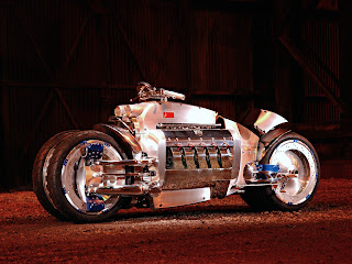 Dodge Tomahawk V-10 Motorcycle Concept Car 2C 2003 Cool Bikes Wallpaper
