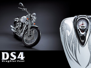 Yamaha DragStar Four DS4 Wallpapers