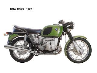 BMW R60-5 1972
