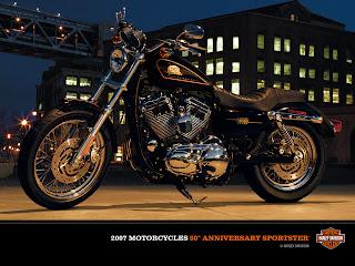 Harley-Davidson XL-50 50th Anniversary Sportster 2C 2007