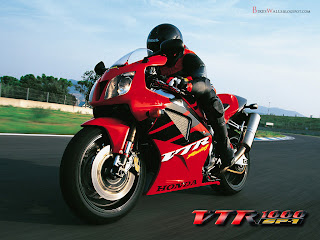 Honda VTR 1000 SP-1 Racing Bikes Free Wallpapers