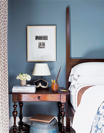 Luster interiors classic colors gray blue - Jamestown blue paint color ...
