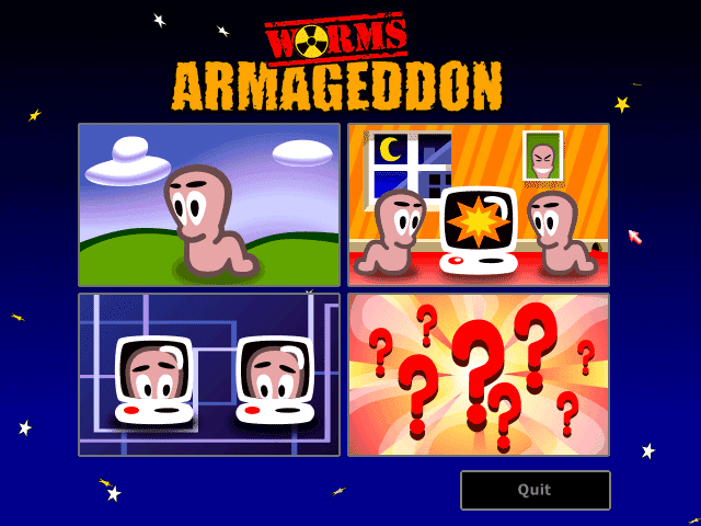 Worms Armageddon Battle.