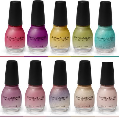 I own four Sinful Colors nail 2011