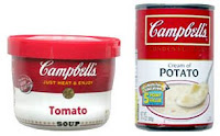 Campbells Tomato Soup vs Campbell's Cream of Potato Soup
