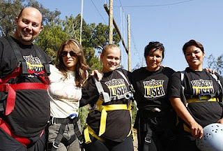 The Biggest Loser Black Team with Trainer Jillian Michaels