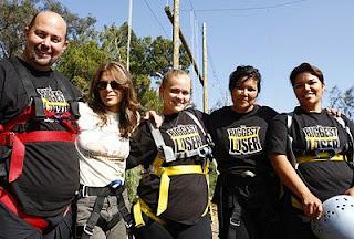 The Biggest Loser Black Team with Trainer Jillian Michaels