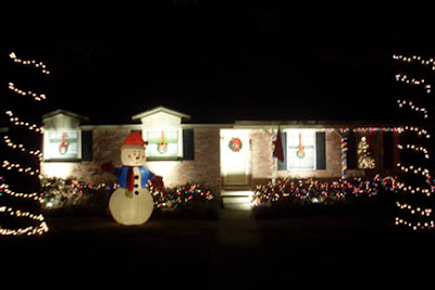 Our House Decked Out for Christmas